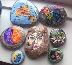 Malede sten af Anita Vejlstrup