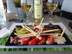 """There is always a reason to celebrate, white or red, tastefully paired and dressed up with a view to die for! """"Thea"""" Terrace Bar @Central Hotel #greece #athens #travel #greekwines Boutari"""
