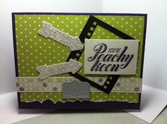 Peachy Keen and On Film -Stampin' With Annie - stampin' up