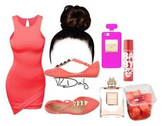 """""""~daily ~"""" by indiaalove ❤ liked on Polyvore featuring beauty, Doublju, Melissa, Maybelline and Chanel"""