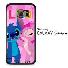stitch and angel kissing2445 Samsung Galaxy S6 Edge Plus Case