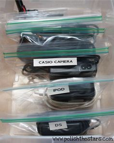 Cable ziplock