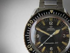Vintage Watches: Omega SeaMaster The Ultimate Vintage Dive Watch - Vintage Scores