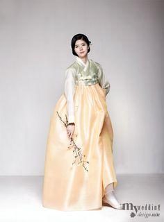 MYWEDDING [한복 화보] 꽃, 수줍게 봉오리 맺다