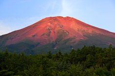 Red Fuji - Red Fuji. (Aka -Fuji in Japanese)