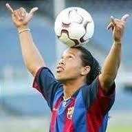 """God gives gifts to everyone. Some can write, some can dance. He gave me the skill to play football and I am making the most of it."" -Ronaldinho Gaucho (favorite player!!!)"