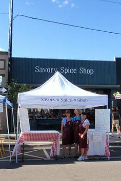 #tradeshow #tradeshowsigns #tradeshowdisplays #promotional #signaramacolorado #signs #colorado #askthesignlady Canopy Tent for Savory Spice Shop