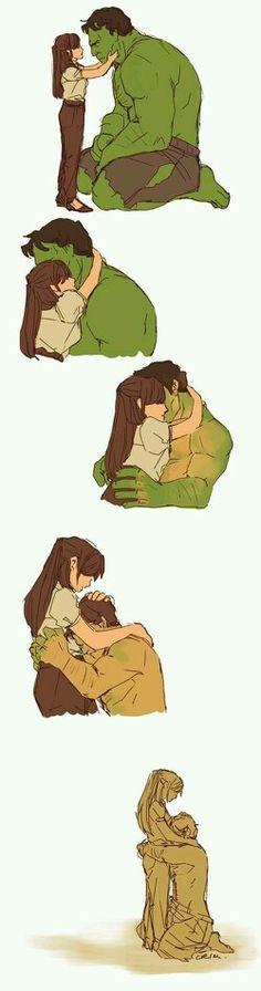 Quem ama,cuida,se importa,protege...faz de tudo pra fazer a pessoa feliz. Pena que nem todo mundo pensa assim.