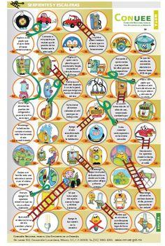 Juego de serpientes escaleras para las matemáticas - http://materialeducativo.org/juego-de-serpientes-escaleras-para-las-matematicas/