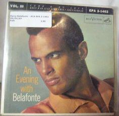 Harry Belafonte ~ RCA Victor EPA 3-1402 45 EP w/ PS