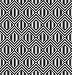 Шестигранники бесшовных текстур. Геометрический узор. Векторные искусства.