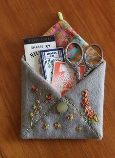 Free Project! Envelope Needle Case - C&T Publishing