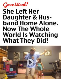 She Left Her Daughter & Husband Home Alone. Now The Whole World Is Watching What They Did! #compartirvideos #funnyvideos