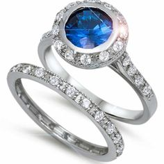 12mm Sterling Silver ROUND CUT BLUE SAPPHIRE CHANNEL SET DOUBLE WEDDING BAND Bridal SET SIZES 5-10 (10) THE ICE EMPIRE http://www.amazon.com/dp/B009DNUDFW/ref=cm_sw_r_pi_dp_m4cFub05C52AX