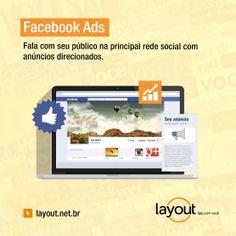Serviço Facebook Ads na Layout.