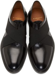 Givenchy Black Slip-On Dress Shoes