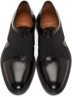 Givenchy Black Slip-On Dress Shoes