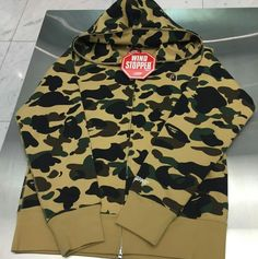 Thanks Aaron, for helping me out with the coolest #bape camo hoodie from Japan! I can't wait to rock it! #Nakanarilife #bapecamo #bape
