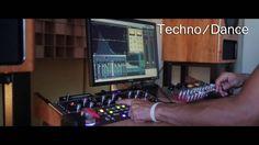 Techno Minimal Audio Mastering Sample