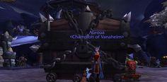 Hmm big chest in my garrison, wonder what that is  #Warcraft! #wow #garrison #wod #vanaheim #wonder