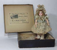 Rare Antique Original French Bisque Bebe Steiner AU Nain Bleu Paris Doll Shop | eBay