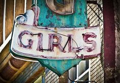 Vintage signs from California's past