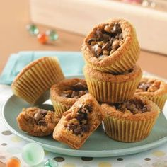 Cookie Cupcakes Recipe -These cupcakes taste very similar to fluffy chocolate chip cookies and were the signature dish of my husband's Aunt Lois when I first married into the family. His mother began making them also and they are her most-requested dish. Even when making traditional desserts for holidays, she adds these cupcakes. She even gives them as gifts.—Sue Smith, Joaquin, Texas