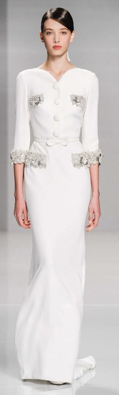 Georges Hobeika. For the silver embellishments.