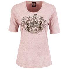 Harley Gear, Harley Davidson Parts, Biker Shirts, Half Sleeves, Pink Ladies, Graphic Tees, T Shirts For Women, Mens Tops, Clothes