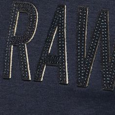 G-Star RAW | Heren | T-shirts | Art T-shirt , Saru Blue