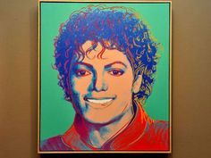 Rare Michael Jackson Portrait By Andy Warhol Up For Sale I so want this!