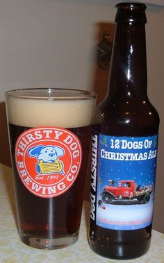 12 Dogs of Christmas- Thirsty Dog Brewing Co.