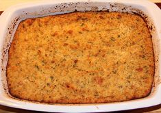 A classic savory and moist Southern cornbread dressing to accompany roast turkey or chicken. Thanksgiving Recipes, Fall Recipes, Holiday Recipes, Potluck Recipes, Side Recipes, Yummy Recipes, Yummy Food, Southern Dishes