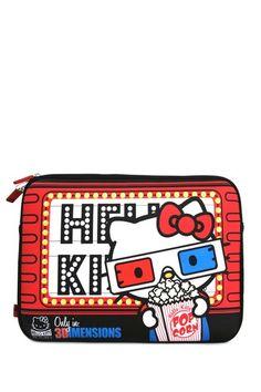 Hello Kitty 3D Glasses Laptop Case!!!