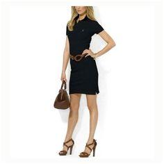 prix t shirt ralph lauren - Polo Ralph Lauren femme boss Robe en coton  blanc en 2ead5126a56