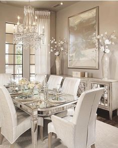 Look at this wonderful photo - what a creative design #casualDiningRoom