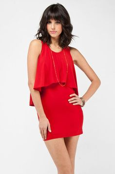 cute! just need a clutch and tights!