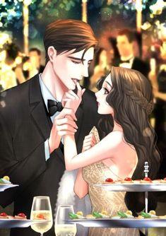 Mother and father Romantic Love Couple, Romantic Anime Couples, Cute Couple Art, Romantic Manga, Cute Couples, Sweet Couples, Anime Couples Drawings, Anime Couples Manga, Anime Poses