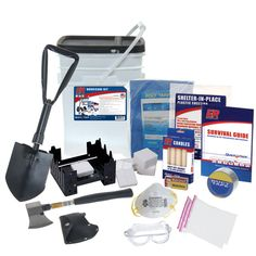 Hurricane Kit, also as I noted on my board remember your Tetanus shot or booster, dirty water and moving debris around you really need before emergency, no matter what the situation, even in the garden. Health dept has them free or cheap if insurance is a problem