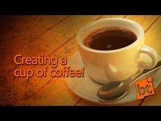 How to create a cup of coffee in Blender! - YouTube