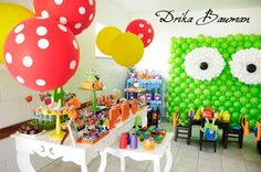 monster birthday party | ... girl parties kids parties monster monsters inc party ideas and tagged