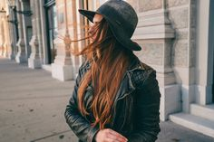 Diesel Hat & All Saints Leatherjacket // Keep it simple - HER PISTOL GO | Women's Style Blog - HER PISTOL GO | Women's Style Blog
