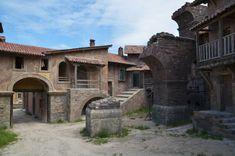 Film and Photo Shoot Renaissance City Backlot: Terracotta Roof Houses