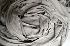 Natural linenflax fabric/ Stonewashed/ Heavy by HouseOfBalticLinen