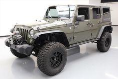 2015 Jeep Wrangler 2015 JEEP WRANGLER UNLTD RUBICON 4X4 6SPD LIFTED 35K MI #746043 Texas Direct
