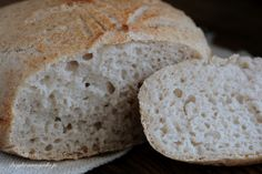 Easy in preparation sourdough bread. For this recipe, I have used discarded sourdough starter from day 3 and 4 to minimise the waste. You can use of deactivated starter instead. Low Carb Bread, Keto Bread, Bread Baking, Low Carb Recipes, Bread Recipes, Tapas, Microwave Bread, Whole Wheat Bread, Sin Gluten