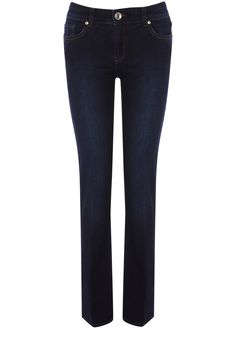 As seen in Woman Magazine, these classic jeans are boot cut in style and have rivet detail at the pockets.
