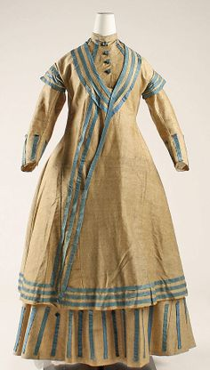 Ensemble  Date: 1864–68 Culture: American Medium: wool  Accession Number: 1979.346.120a–d