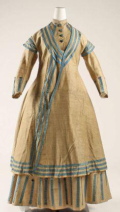 Ensemble  Date: 1864–68 Culture: American Medium: wool