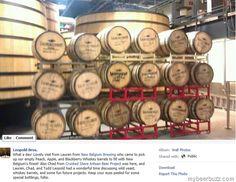 New Belgium Using Leopold Brothers Fruit Whiskey Barrels